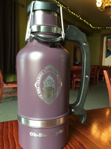 Plum 64 oz Drink Tank growler