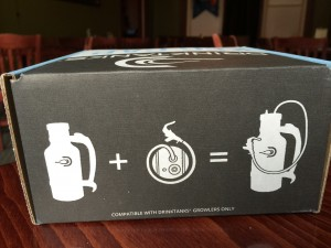 Keg cap accessory kit, comes with lid, CO2 cartridge and tap....Keeps your beer fresh longer