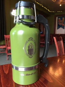 Olive 64 oz Drink Tank Growler. Again, the picture does not show the true color, head on down to check it out in person